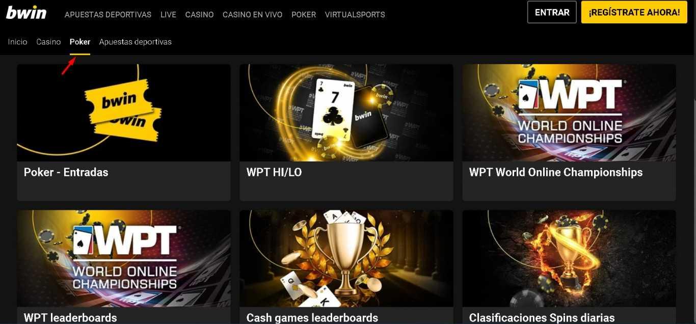 Bwin bonus poker