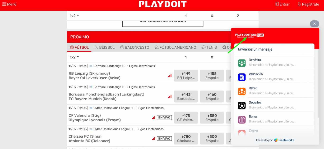 Playdoit chat support