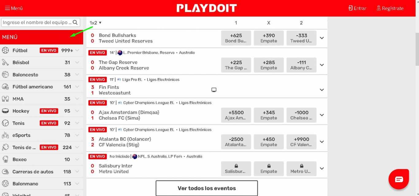Playdoit sports betting